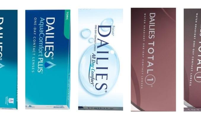 Best Place to Buy Dailies Contact Lenses 2018 - Money Saving Guide
