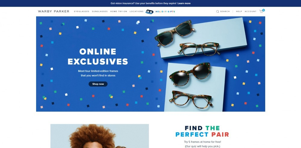 7eb3aa5eb01f Warby Parker Glasses  An Online Eyewear Retailer With A Home Try-on ...